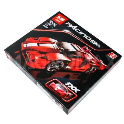 Конструктор Lepin 21009 / Racers super car FERRARI FXX 1:17 (аналог ЛЕГО 8156, 632 дет.) - 4